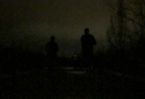Laufen im Dunkeln
