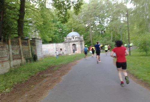 Der letzte Kilometer des Drittelmarathon Potsdam
