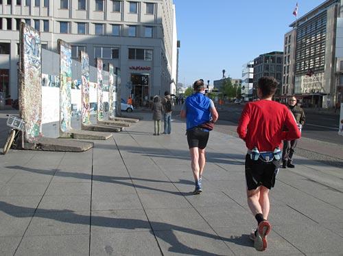 Mauer-Reste am Potsdamer Platz