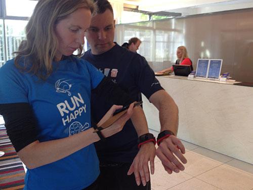 Testen der neuen TomTom Runner Cardio