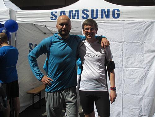 Nils Schumann und startblog-f-Läufer