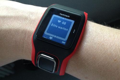 Tom Runner Cardio Laufuhr mit Anzeige der Herzfrequenz