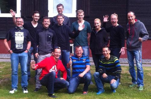 Laufblogger-Gruppenfoto im Harz 2014