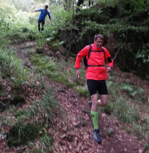 Laufblogger beim Traillauf im Harz