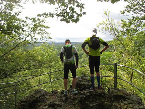 Schöner Ausblick über den Harz zwischendurch
