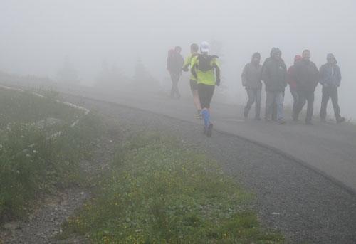 Der Weg zum Brocken wird nebelig