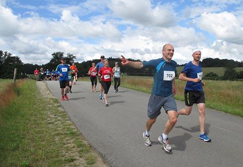Läufer des Tollensesee-Halbmarathon 2014