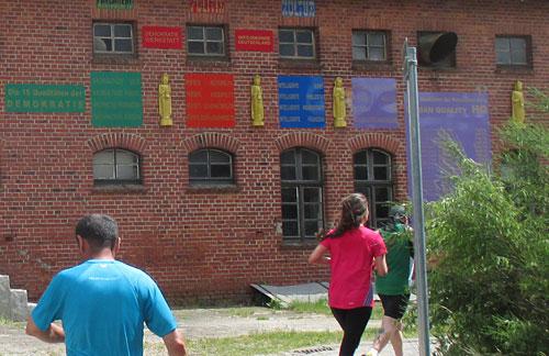 "Gebäude ""Brahmania"" in Alt Rehse"