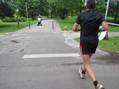 Kleines Läufer-Duell zum Schluss