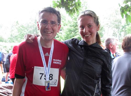 Laufblogger-Treffen beim Tollensesee-Lauf
