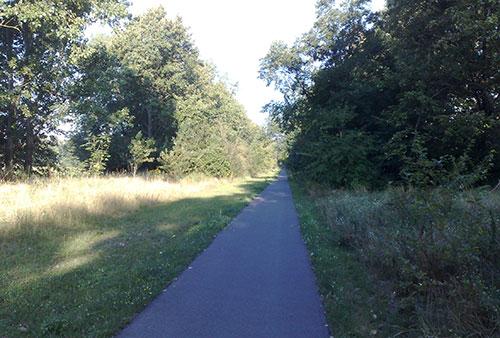 Weg von Heinersdorf nach Teltow