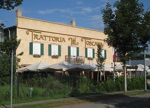 Italienische Trattoria in Teltow