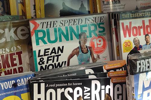 Englische Runner's World The Speed Issue