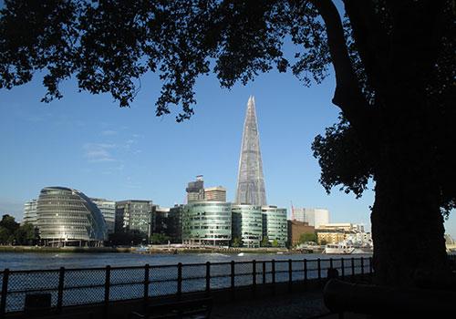 Blick vom Tower auf The Shard