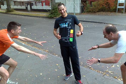 Bewunderung für den BerlinMan-Triathlon-Finisher