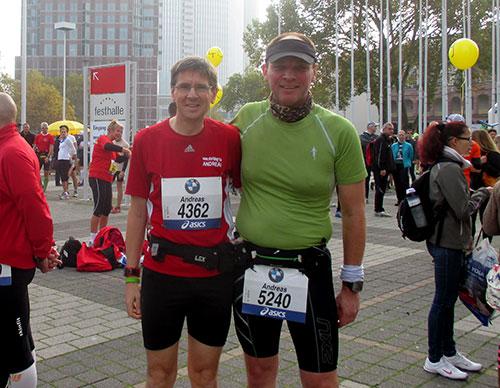 Die beiden startblog-f-Marathonläufer