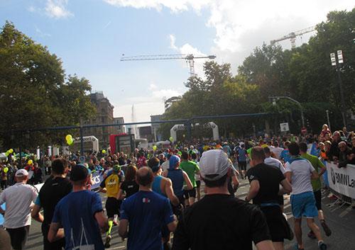 Läufer des Frankfurt-Marathon 2014