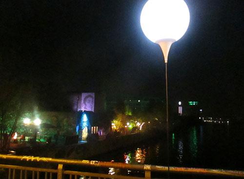 Blick von der Schillingbrücke