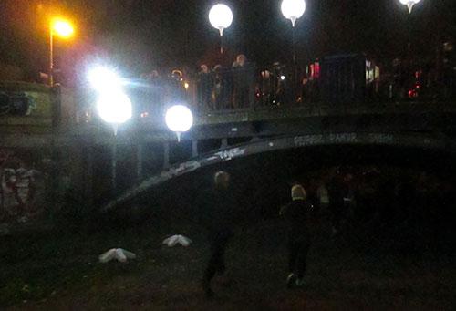 Ballons am Engelbecken an der Waldemarstraße