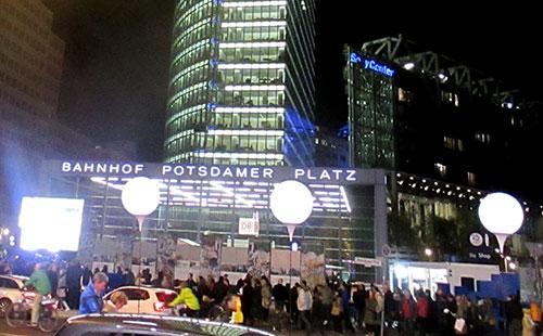 Lichtgrenze am Potsdamer Platz