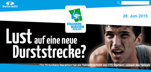 Website Strausberg-Marathon