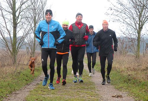 Läufergruppe