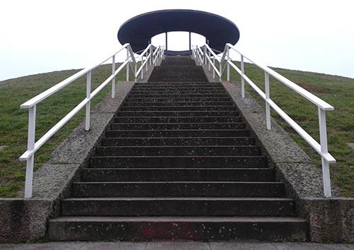 Treppentraining am Lilienthal-Denkmal