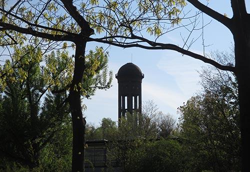 Wasserturm am Priesterweg
