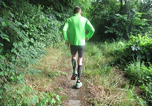 Ein tempodauerlauf über 25 km mit Hartmut