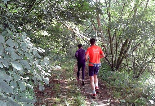 Lauf-Weg mit Hindernissen