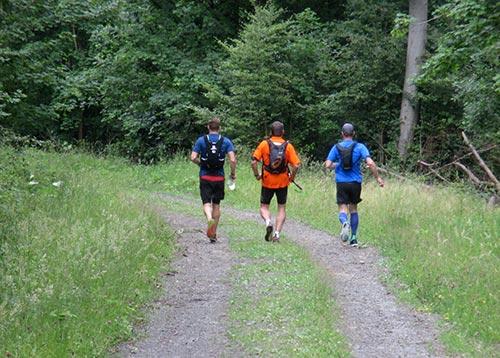 Start zum 30-km-Trail-Lauf durch den Harz