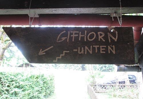 Schild Gifhorn unten