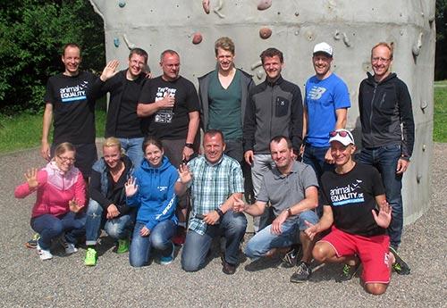 Laufblogger-Gruppenbild vom Laufblogger-Camp 2015
