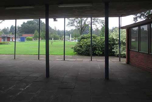 Blick in das Schlossparkbad