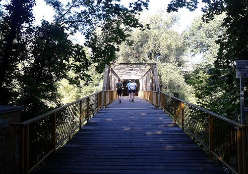 Brücke am Teltowkanal