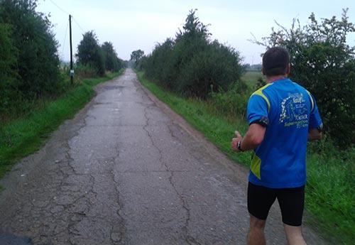 Laufen in Dreye