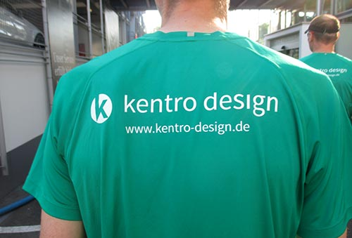 Laufshirt Kentro Design