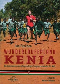 Buch Wunderläuferland Kenia von Jan Fitschen