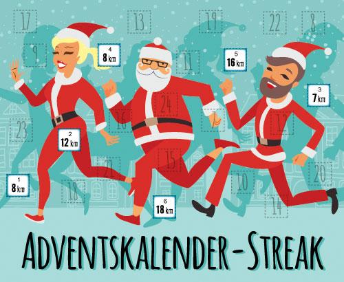 Adventskalender-Streak 2015 Woche 1