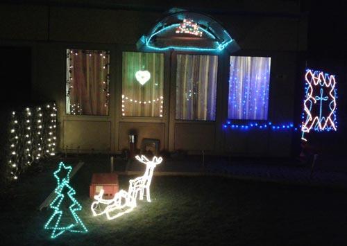 Weihnachtsbeleuchtung Motzener Straße