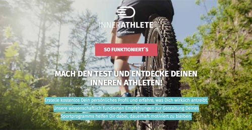 Website InnerAthlete