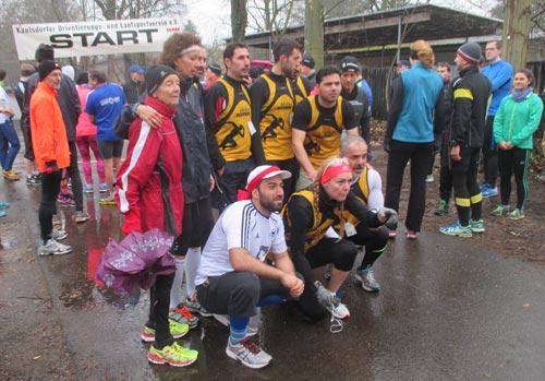 Gruppenfoto der Shisha Runners