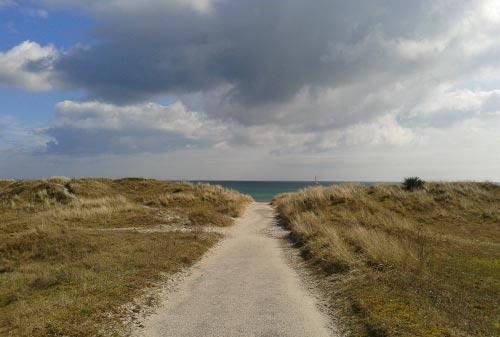 Läufer-Blick auf die Ostsee