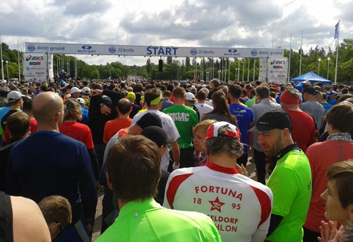 Am Start des Big25 Berlin 2016