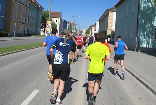 Läufer des Regensburg Halbmarathon 2016