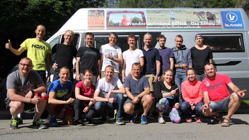 Laufblogger-Camp 2016 Teilnehmer