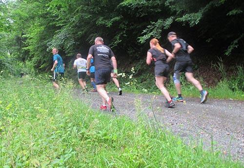 Im Harz läuft man auch bergauf