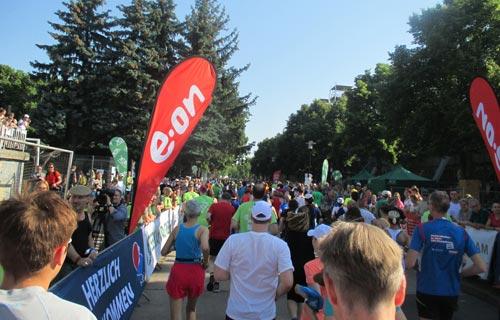 Start zum Halbmarathon