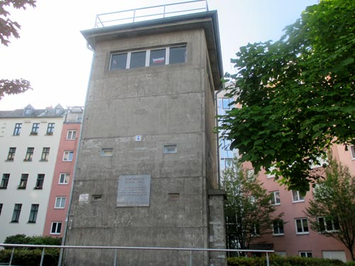 Ehemaliger Grenzwachturm, heute Gedenkstätte Günter Litfin