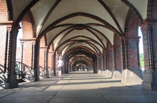 Mauerwegläufer auf der Oberbaumbrücke